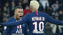 Monaco 1 - 4 Paris Saint-Germain