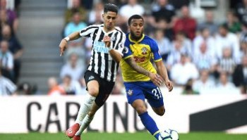 Newcastle United 2 - 1 Southampton